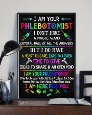 I am your Phlebotomist  11x17 Poster lifestyle-poster-2