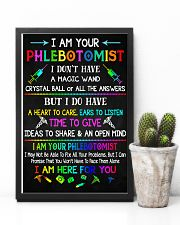 I am your Phlebotomist  11x17 Poster lifestyle-poster-8