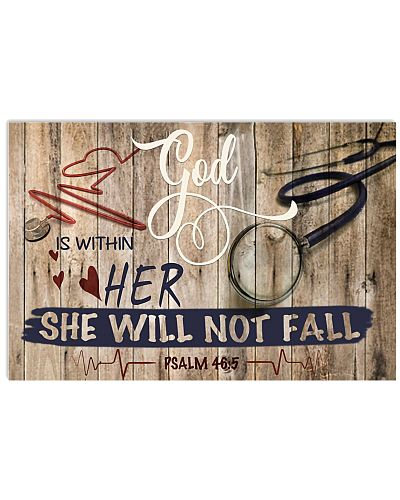 Nurse God is within her she will not fail