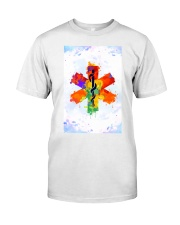 Paramedic Colorful Star of Life Logo Classic T-Shirt thumbnail