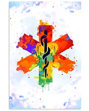 Paramedic Colorful Star of Life Logo 11x17 Poster front