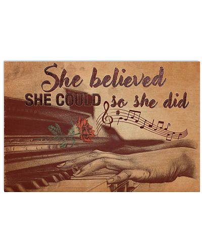 Pianist she believed she could so she did