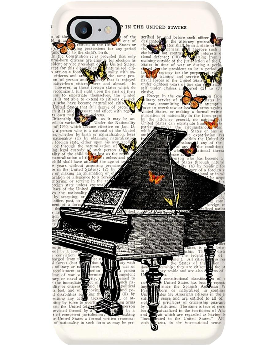 Pianist Vintage Piano Phone Case