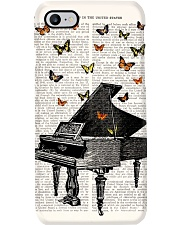 Pianist Vintage Piano Phone Case i-phone-7-case