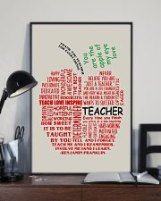 Teacher You Are The Apple Of My Eye 11x17 Poster lifestyle-poster-2