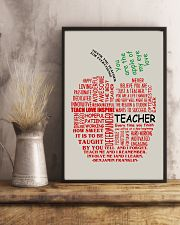 Teacher You Are The Apple Of My Eye 11x17 Poster lifestyle-poster-3