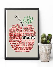 Teacher You Are The Apple Of My Eye 11x17 Poster lifestyle-poster-8