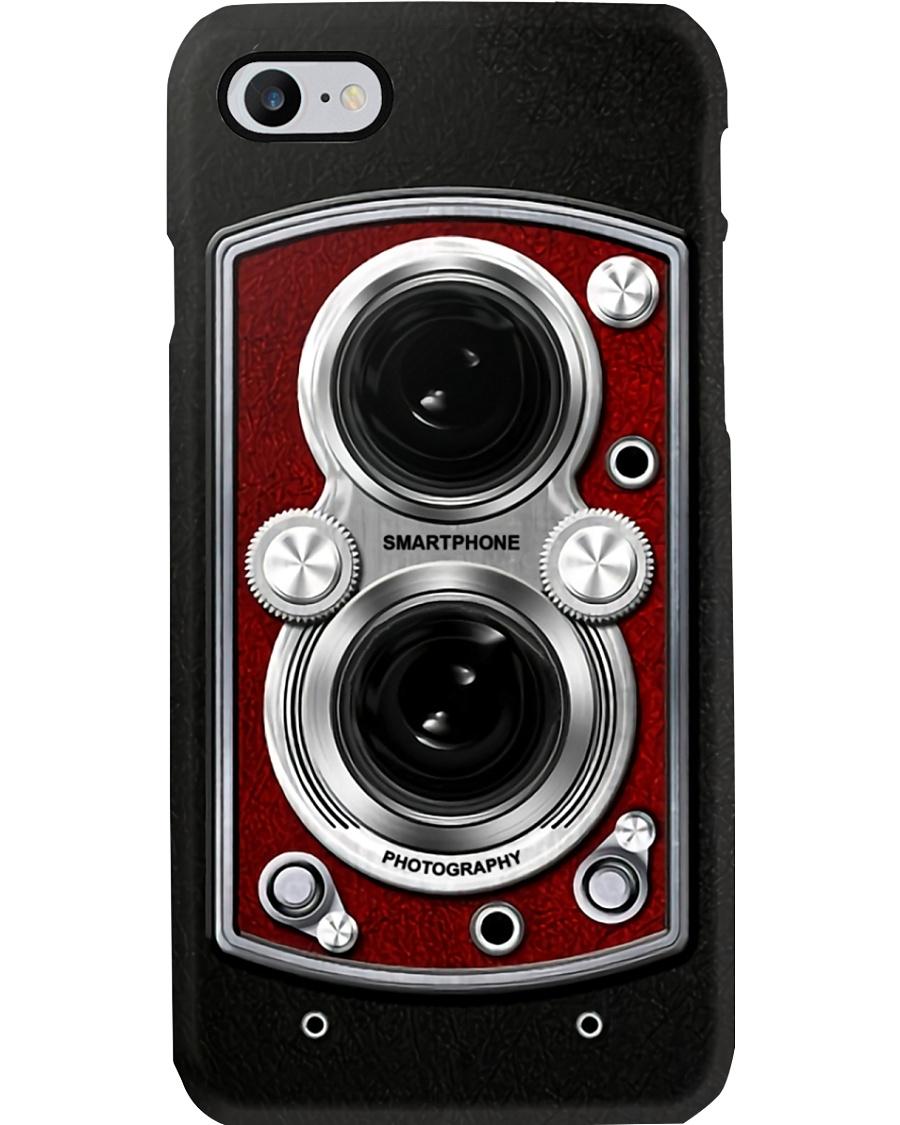 Photographer Red Vintage Cam Phone Case