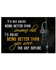 Trumpet Better Than You Were 17x11 Poster front