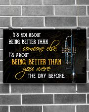 Trumpet Better Than You Were 17x11 Poster poster-landscape-17x11-lifestyle-18