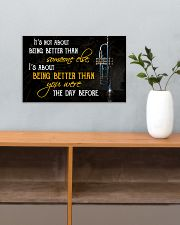 Trumpet Better Than You Were 17x11 Poster poster-landscape-17x11-lifestyle-24