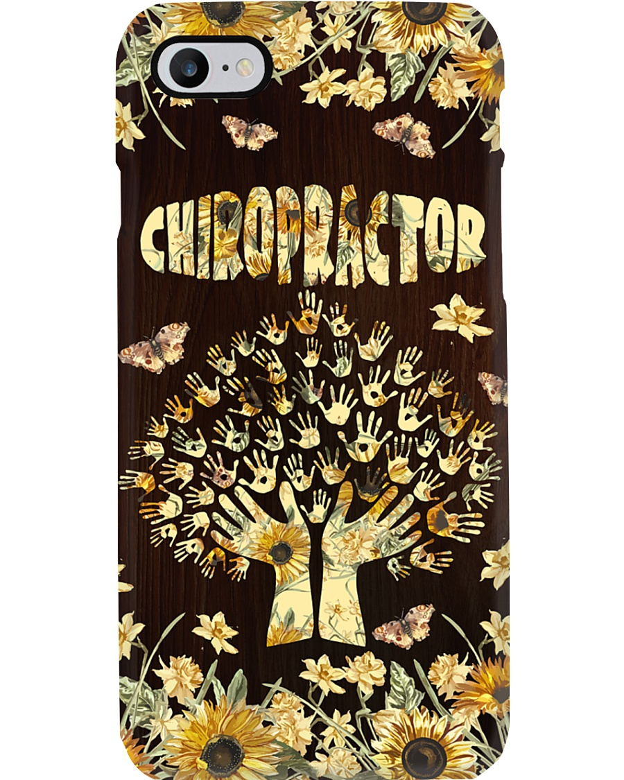 Chiropractor Flowers Phone Case