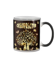 Chiropractor Flowers Color Changing Mug thumbnail