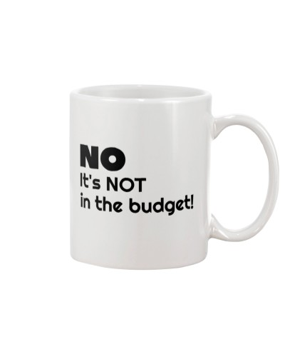 Accountant - It's not in the budget