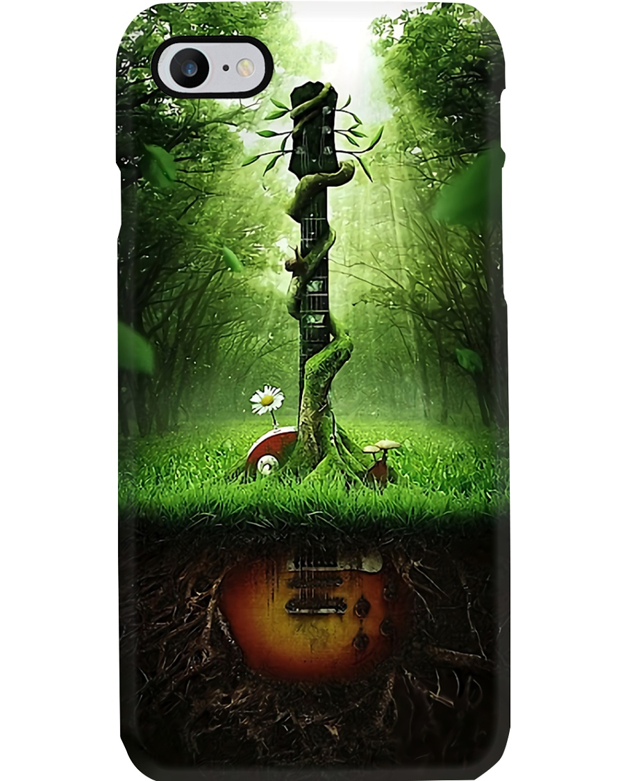 Green Guitar  Phone Case