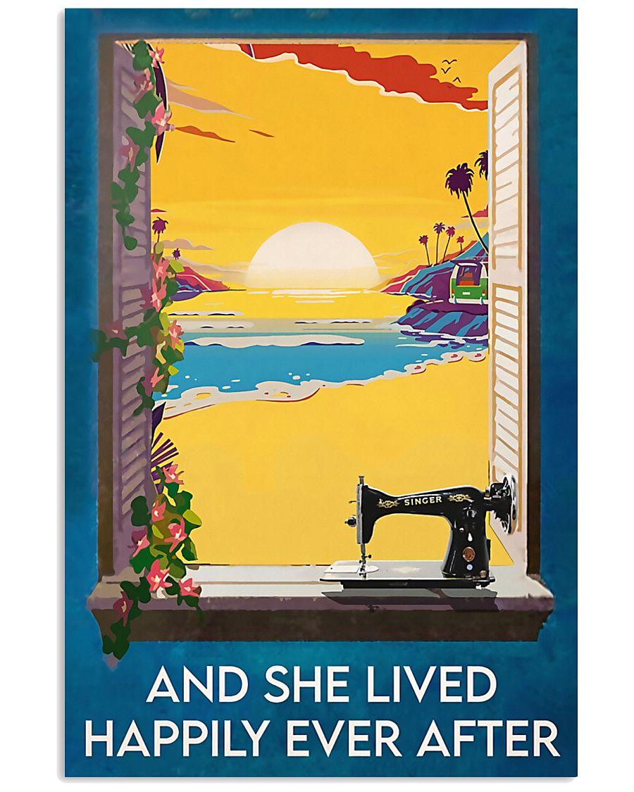 Sewing And She Lived Happily Ever After 11x17 Poster