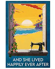 Sewing And She Lived Happily Ever After 11x17 Poster front