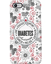 Diabetes Awareness Wording Phone Case i-phone-7-case