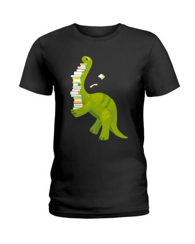 Librarian Cute Dinosaur