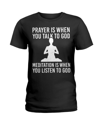 Yoga - Meditation is when you listen to God