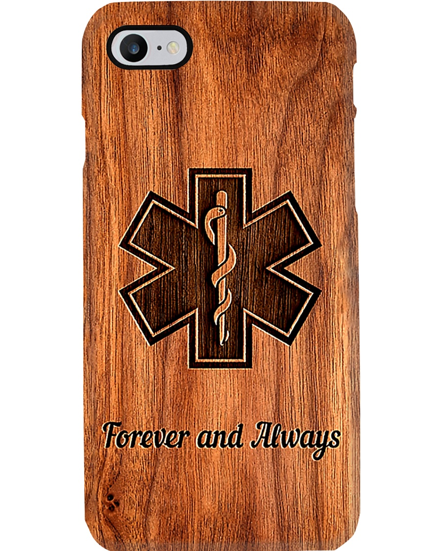 Paramedic Forever And Always Phone Case