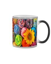 Crochet and knitting Sunflower  Color Changing Mug thumbnail