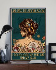 Sewing I Go To Lose My Mind And Find My Soul 11x17 Poster lifestyle-poster-2