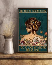 Sewing I Go To Lose My Mind And Find My Soul 11x17 Poster lifestyle-poster-3