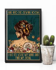 Sewing I Go To Lose My Mind And Find My Soul 11x17 Poster lifestyle-poster-8