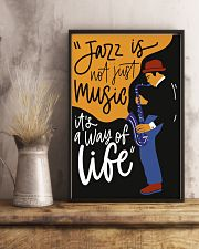 Saxophone Jazz is not just music it's  way of life 11x17 Poster lifestyle-poster-3