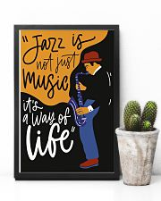 Saxophone Jazz is not just music it's  way of life 11x17 Poster lifestyle-poster-8