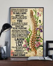 Chiropractic Today is a good day 11x17 Poster lifestyle-poster-2
