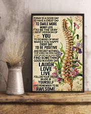 Chiropractic Today is a good day 11x17 Poster lifestyle-poster-3