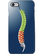 Chiropractor colorful spine Phone Case i-phone-7-case