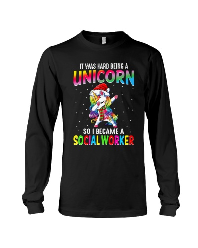 Social worker hard being a unicorn