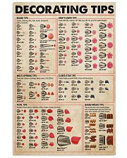 Baker Decorating Tips 11x17 Poster front