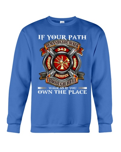 Firefighter Walk As If You Own The Place