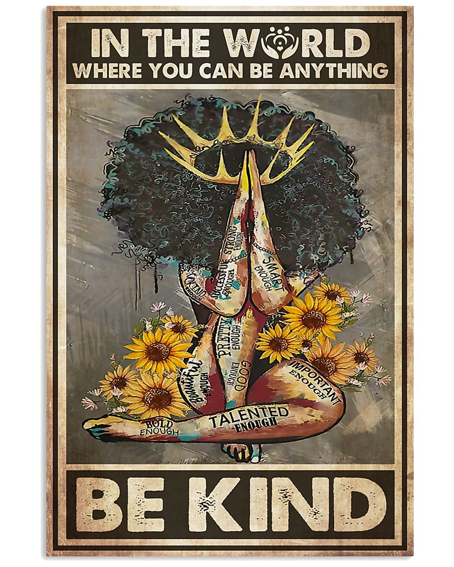 Social Worker Be Kind  11x17 Poster