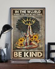 Social Worker Be Kind  11x17 Poster lifestyle-poster-2