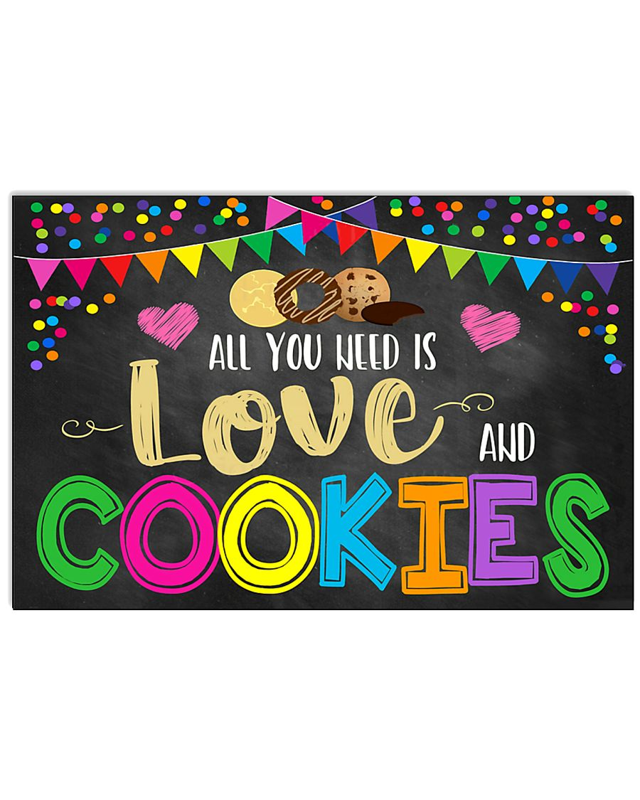 Baking All you need is love and cookies 17x11 Poster