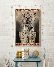 Photographer Music And Cameras 11x17 Poster lifestyle-holiday-poster-3