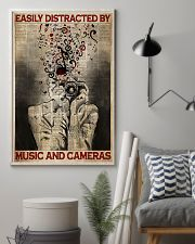 Photographer Music And Cameras 11x17 Poster lifestyle-poster-1
