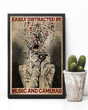 Photographer Music And Cameras 11x17 Poster lifestyle-poster-8