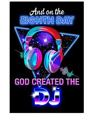 God Created The DJ 11x17 Poster front