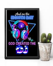 God Created The DJ 11x17 Poster lifestyle-poster-8