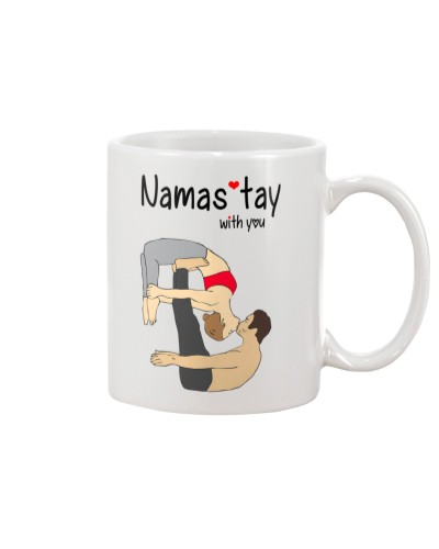 Namast'ay With You Funny Valentine Gift