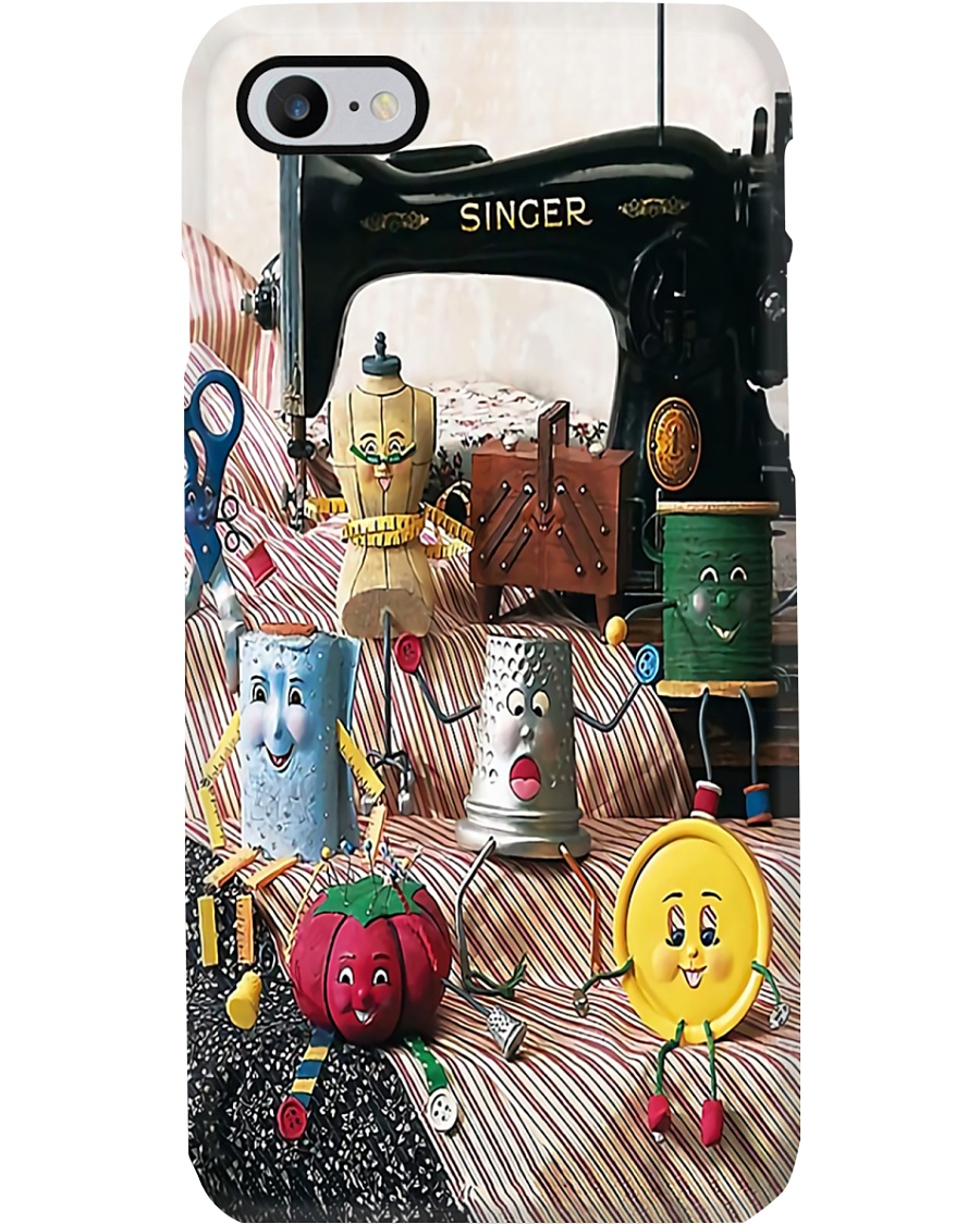 Colorful Sewing World Phone Case