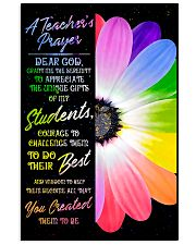 A Teacher's Prayer 11x17 Poster front