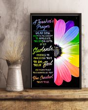 A Teacher's Prayer 11x17 Poster lifestyle-poster-3
