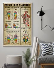 Massage Therapy knowledge 11x17 Poster lifestyle-poster-1